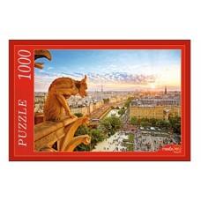 Пазлы 1000 элементов, Парижская горгулья