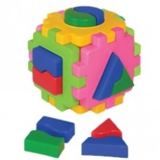 Куб Умный малыш Логика 1 12х12х12см