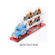 Машина автовоз, инерционная, 1017-7,  под колпаком, 46*8*17 см