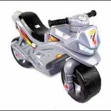 Мотоцикл 2-х колесный в пакете серый (3шт)