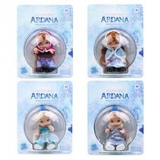 Кукла Ardana в шаре, 4 вида,A-350, на листе