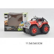 Машина перевертыш на батарейках, M11-4, в коробке, 11,5*8,5*8 см