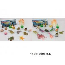 Набор морских животных в пакете