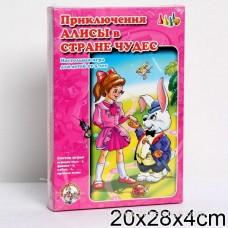 Настольная игра-ходилка Прикл.Алисы в стране чудес.