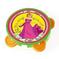 Бубен маленький любимая принцесса в пакете /54шт/