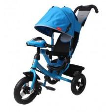 Велосипед 3-х колесный Moby Kids Comfort 12/10 AIR CAR1 надувные колеса цвет синий