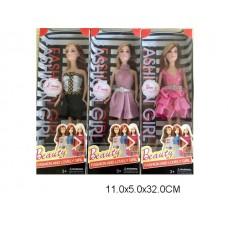 Кукла, 3 вида, ZR-511D, в коробке, 30 см