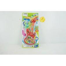 Гитара на бат YY02-4A на листе 37*17*3 см