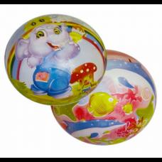 Мяч ПЛОТНЫЙ 12 см 70 г 5 видов 25495-6   /480шт/// [690315]