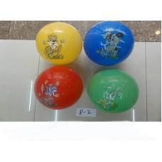 Мяч 4 цвета 25 см 8-2 в пакете