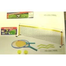 АКЦИНабор HD-094 теннис  напольный 200*61 (сетка с креплением, 2 ракетки) в кор 66*33*6 /12шт/B11189