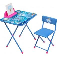 Комплект Disney 2 Золушка (стол+стул мяг.моющ.+пенал) Д2ЗЛ