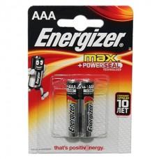 Батарейки  Energizer LR-03 Max power BL*2  цена за 2 шт.