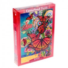 Пазлы 1000 Бабочки Монархи