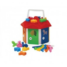 Куб Умный малыш Домик с ключиками 19*19*16см