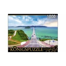 Пазлы 1000 элементов Япония. мост Цуношима konigspuzzle