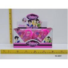Косметика для кукол сердечко в уп 12 шт 8892 в коробке