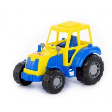 Трактор Мастер в сетке  21*13 см