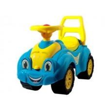 Автомобиль для прогулок голубо-желтый 65*31*44