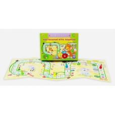 Настольная игра-ходилка Учим буквы и цифры