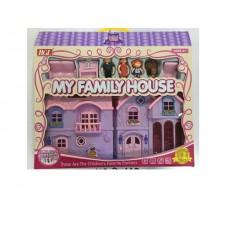 Дом для кукол, 80612,  в коробке, 49*8*40 см