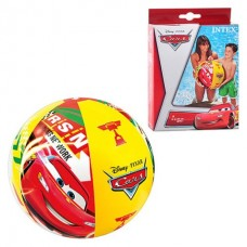 Мяч пляжный 61 см Тачки 58053 в коробке
