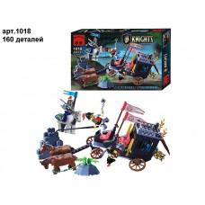 Конструктор 1018 засада 160 деталей в коробке 29*19*5