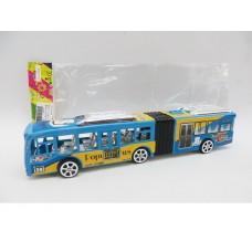 Автобус инерционный, JY678, в пакете,  28*5*6,5 см
