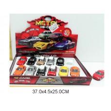 Машина инерционная, металлическая,1:43, HY43222, в коробке 12 шт