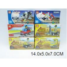 Конструктор 6 видов C3001-6 коробка 14*5*7 см /288шт//144шт/ [382280]