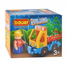 Конструктор 656 Стройка, набор с грузовиком