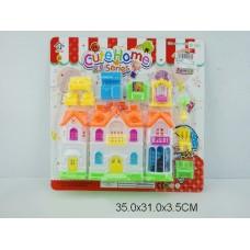 Дом для кукол, 15255, на листе, 35*31*4 см