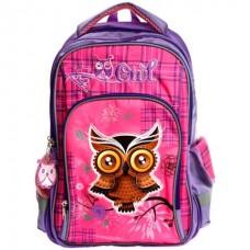 Рюкзак Soft Owl 40*29*20см, 2 отделения, 3 кармана,