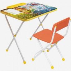Комплект детской мебели Disney Феи. Тайны зимнего леса» (стол+пенал+мягкий стул)