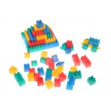 Конструктор для малышей 64 элемента в коробке