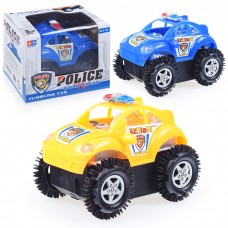 Машина перевертыш на батарейках,Полицейская  V-126 в коробке