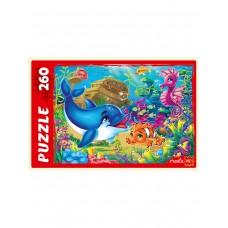 Пазлы 260 эл. Морской мир
