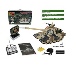 Танковый бой с мишенью на радиоуправлении в коробке 28*11*11 см