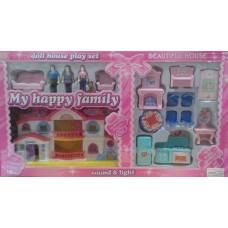 Дом для кукол 8131 коробка 64*9*36 см /10шт//шт/ [416274]