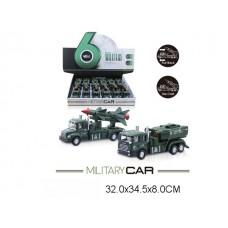 Машина инерционная, металл+ пластик, MY66-067, в упаковке 12 шт, 15 см