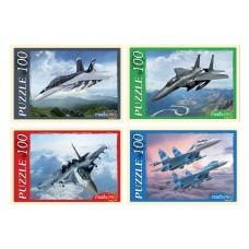 Пазлы 100 эл. Военные самолеты