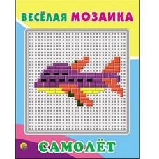 Акция Веселая мозаика. Самолет М-1544 в коробке 17*1,5*24,5 см