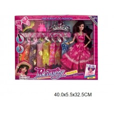 Кукла 29 см с платьями SD179 в коробке