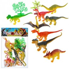 Набор динозавров LDB-1002 в пакете