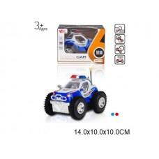 Машина перевертыш на батарейках, MY66-174, в коробке, 14*10*10 см