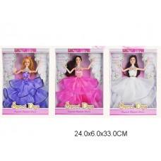 Кукла 3 вида, 023, в коробке, 24*6*33 см