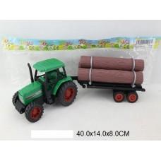 Трактор лесовоз инерцинерционный в пакете