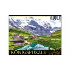 Пазлы 1000 элементов горный пейзаж konigspuzzle