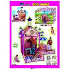 Дом для Барби с террасами 6160 (83 pcs Doll House)