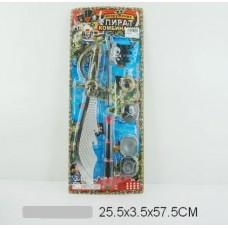Набор оружие пирата 7747-C4 на листе